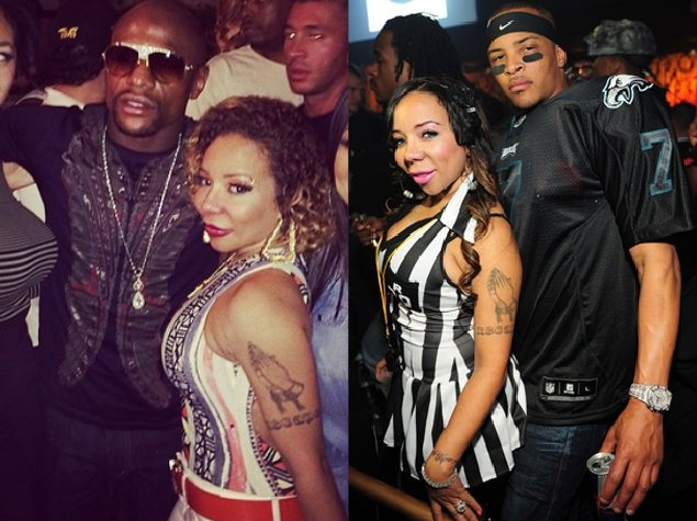 T.I., Tiny and Mayweather Triangle! What's Going On? Should You Confront The Other Interest When Suspecting Infidelity?