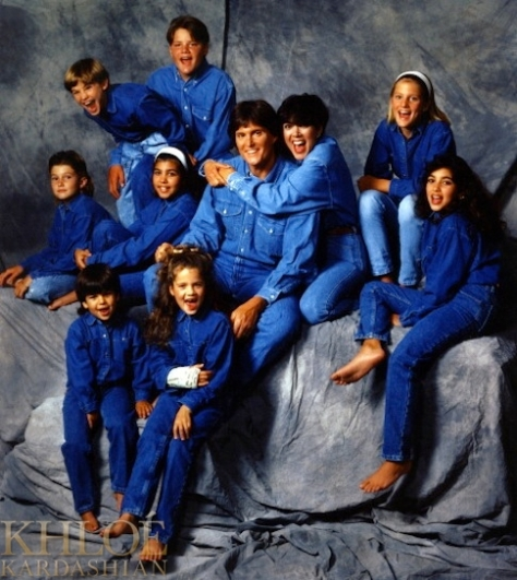 Kardashian Jenner Family Portrait