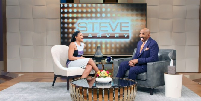 If There Is Nothing On This Finger You Don't Get Claimed! Taraji Henson speaks to Steve Harvey!