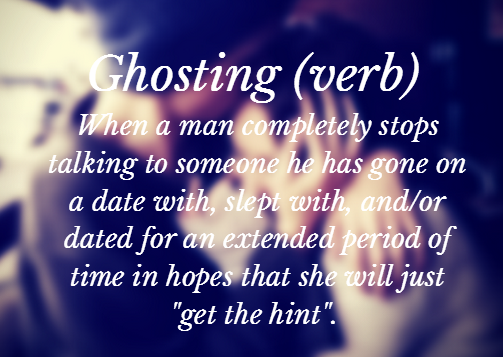 What Is Ghosting And How To Deal With It  Gurlcom